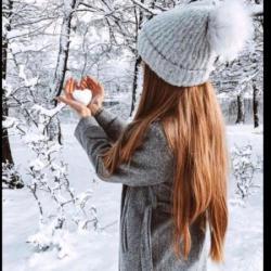 پروفایل دخترانه زمستان