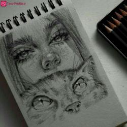 عکس هنری برای پروفایل