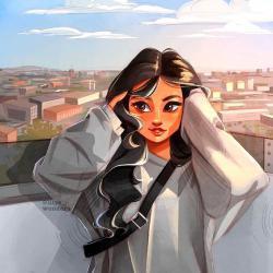 عکس پروفایل فانتزی دخترانه